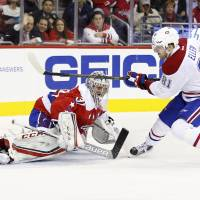 Galchenyuk scores pair as Canadiens edge Capitals