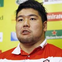 Japan prop Kensuke Hatakeyama has signed a short-term deal with English Premiership side Newcastle Falcons. | KYODO