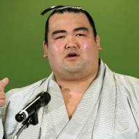 Kotoshogiku says Japanese sumo wrestlers not greedy enough