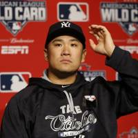 Tanaka throws from mound for first time since surgery