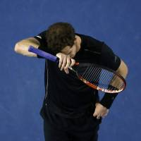 Andy Murray lost in the final of the Australian Open for the fifth time. | REUTERS