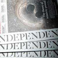 Staff at The Independent sent their final edition to the printing presses on March 25. The 30-year-old British newspaper will now only be  available in digital format. | AFP-JIJI
