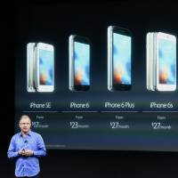 Apple unveils small new iPhone, iPad, price cuts; Cook stands firm on FBI showdown
