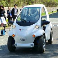 First EV without a battery unveiled in Aichi