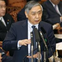 BOJ chief Kuroda says interest rates won't drop again, for now
