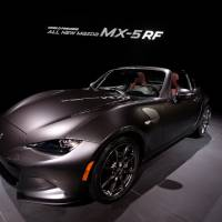 Mazda Motor Corp.'s MX-5 sports car, known as the Roadster in Japan. | AFP-JIJI