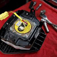A recalled Takata air bag inflator is shown in Miami, Florida, in this June 2015 file photo. | REUTERS