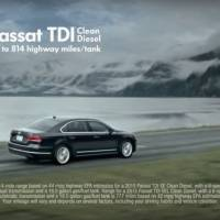 This is a framegrab from a Volkswagen commercial for a vehicle with their TDI Clean Diesel engine. A federal consumer watchdog sued Volkswagen Tuesday, charging the company made false claims in commercials promoting its 'Clean Diesel' vehicles as environmentally friendly. | VOLKSWAGEN / YOUTUBE VIA AP