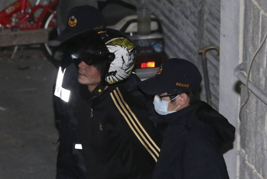 Man suspected of beheading 4-year-old girl in Taipei beaten by angry mob