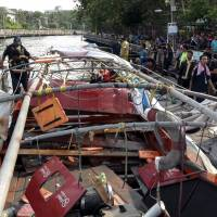 More than 60 hospitalized as boat engine explodes in Bangkok; one Japanese injured