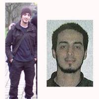 In this undated combination photo provided by the Belgian Federal Police in Brussels on Monday, suspect Najim Laachraoui is shown. Belgian prosecutors appealed to the public Monday for information about Laachraoui, who allegedly traveled to Hungary in 2015 with the top suspect in the Paris attacks. | BELGIAN FEDERAL POLICE VIA AP