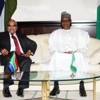 As Zuma visits, Buhari blasts unregistered South African mobiles for aiding Boko Haram