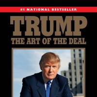The cover of the 2015 paperback reprint edition of the 1987 book 'Trump: The Art of the Deal' by Donald Trump with Tony Schwartz | AP