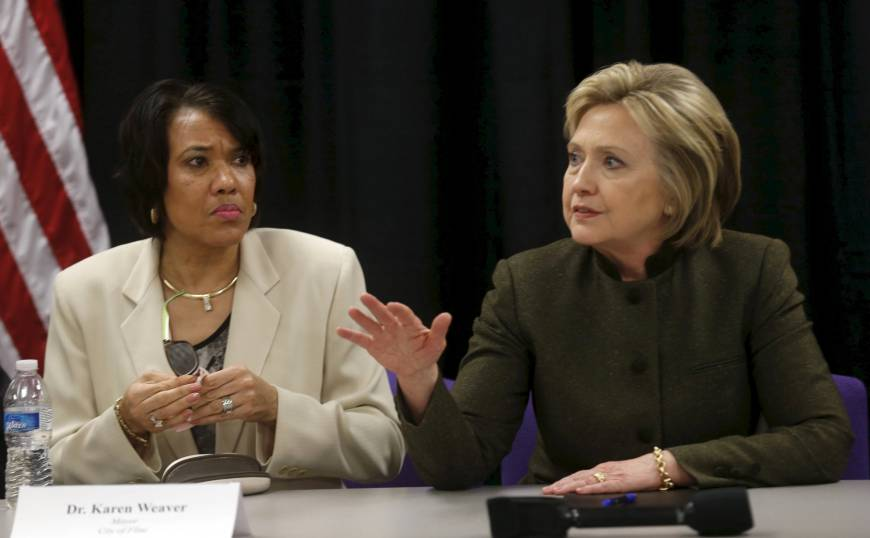 Clinton, Sanders set to debate economy — and water — at rust belt's pollution-hit Flint