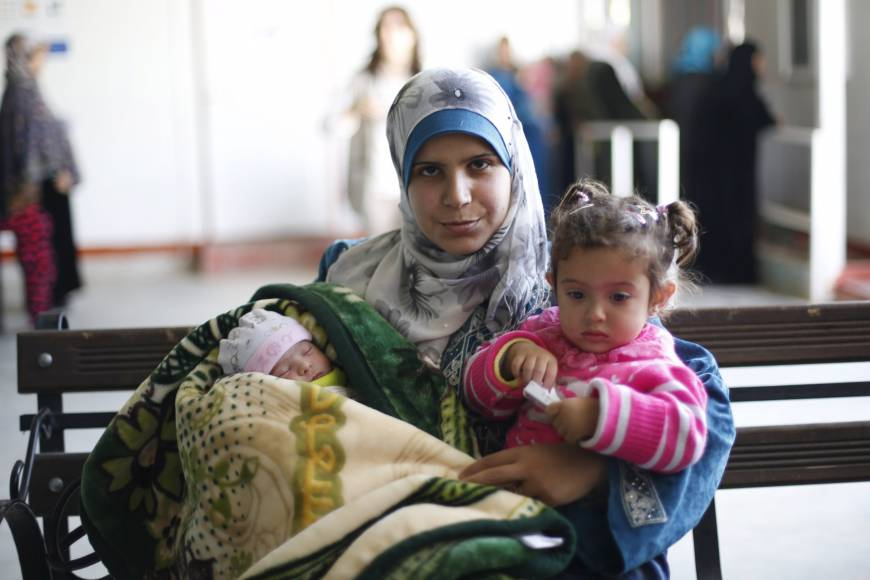 Jordan camp of 79,000 Syrian refugees logs 5,000 births since 2013