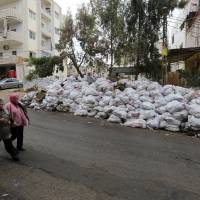 'You Stink' activists air video showing flowing rivers of Lebanon trash