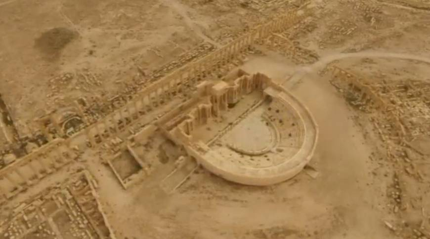 Islamic State-inflicted damage on ancient Palmyra stuns antiquities experts