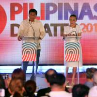 Philippine presidential debate erupts into heated exchanges, gets personal