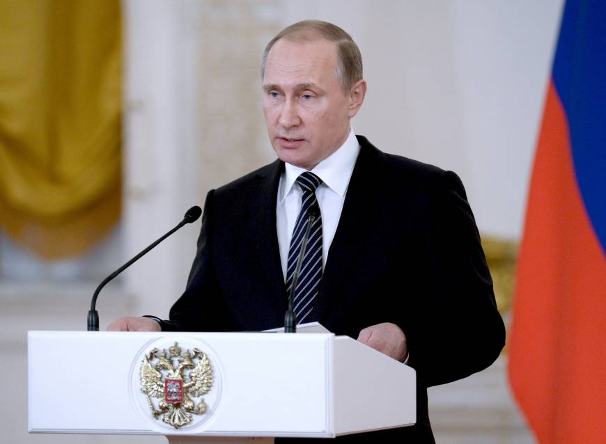 Russia can make powerful Syria military comeback in hours: Putin