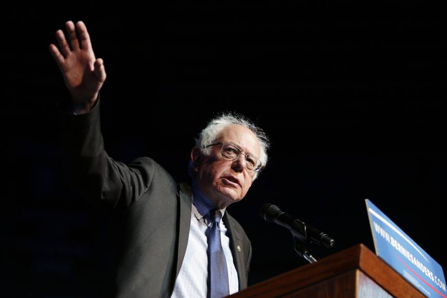Delegate math dogs 'Energizer bunny' Sanders' path as he tries to catch Clinton