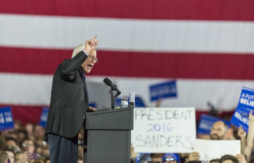 Sanders wins primary caucuses in Alaska and Washington
