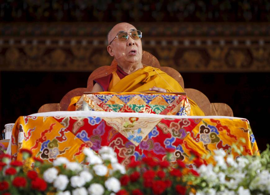Exiled Tibetans take part in leadership election as Dalai Lama steps back