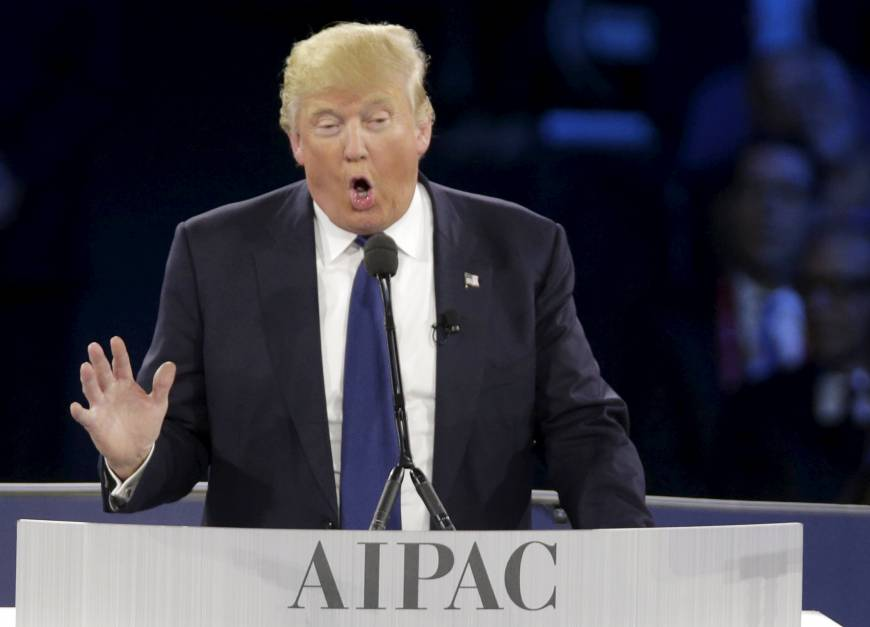 Trump: Move U.S. Embassy to Jerusalem, ax NATO funds, back me GOP