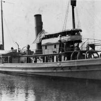 In this image provided by the U.S. Naval History and Heritage Command, the USS Conestoga (AT-54) is seen in San Diego circa early 1921. The Navy tugboat sank nearly a century ago. It has been found by a team of government researchers off the San Francisco coast, officials announced Wednesday. | U.S. NAVAL HISTORY AND HERITAGE COMMAND VIA AP