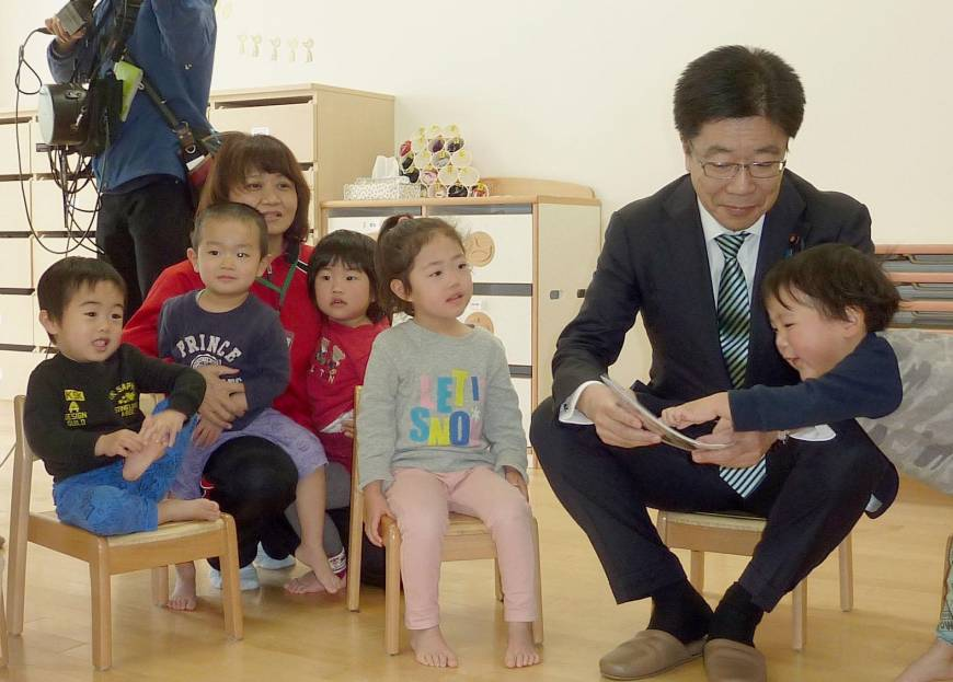 Blogger's viral tirade on day care puts Abe on back foot