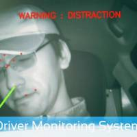 A camera and an infrared sensor determine whether a driver is alert | VIDEO FOOTAGE BY AISIN SEIKI CO./CHUNICHI SHIMBUN