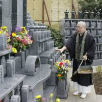 Families look to temples to maintain small graves