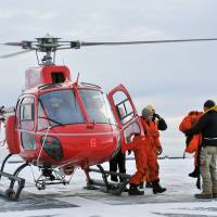 Japanese icebreaker rescues stranded Aussie Antarctic researchers