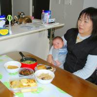 Support services on rise for Japan's new moms