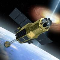 Hitomi, the X-ray astronomy satellite Japan launched in February, has lost communication with Earth. | JAXA/KYODO