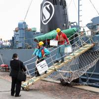 Japan's whaling fleet returns home from Antarctic hunt; catch remains unknown