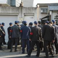 Top police officials gather to head off explosive yakuza war