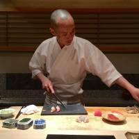 Sushi Tokami: Rare fish and red rice in a legendary basement
