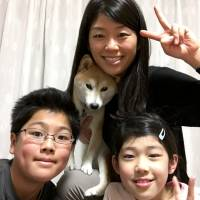 Once bathtub-bound dog Ofurochan warms to life and freedom with new family