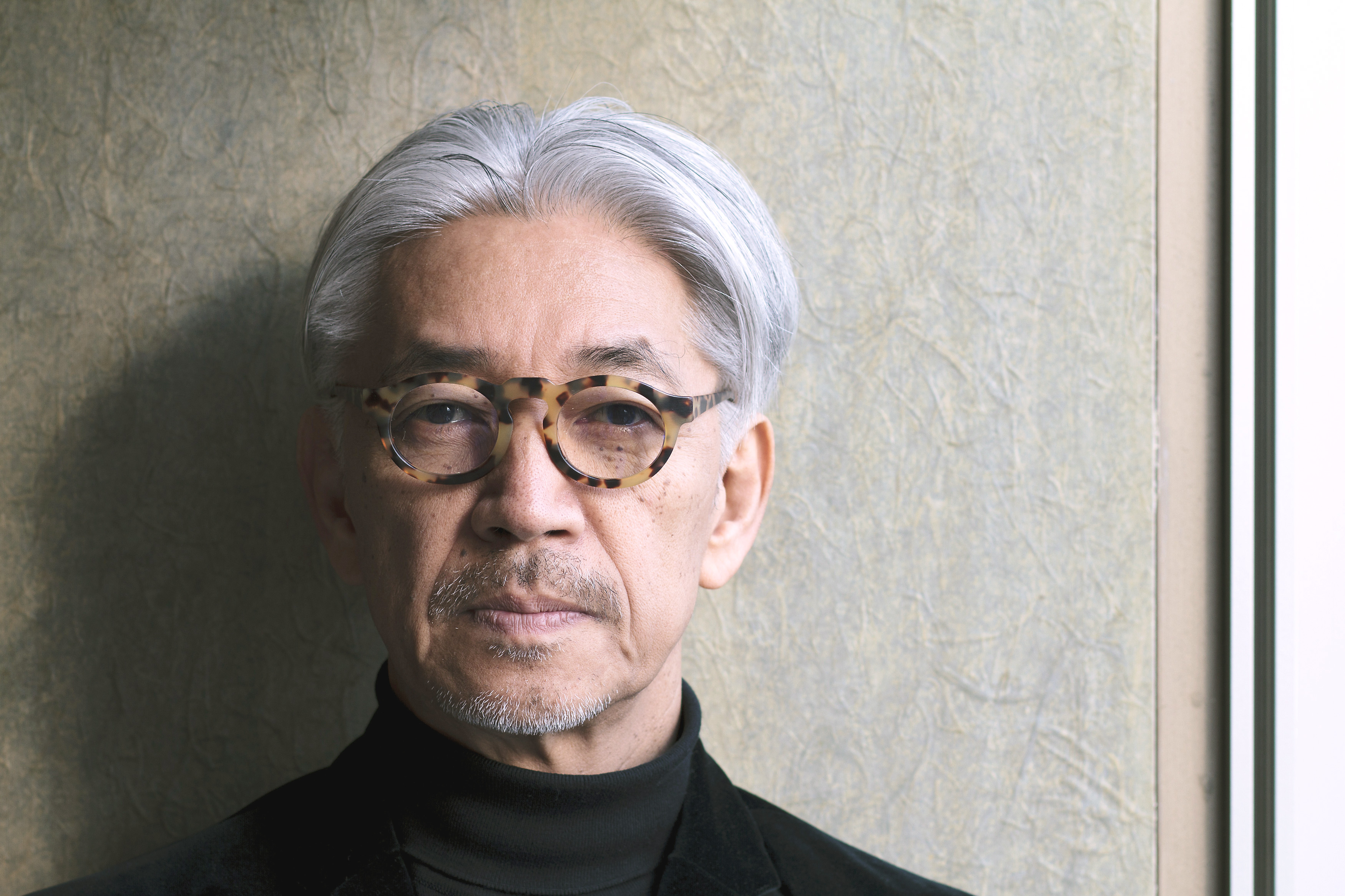 A view to the future: Musician Ryuichi Sakamoto is a champion of technological innovation, but laments the fact that few young people think to pay for music. | JAMES HADFIELD