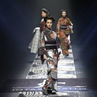 Designer Jotaro Saito seeks to free the kimono from the confines of tradition