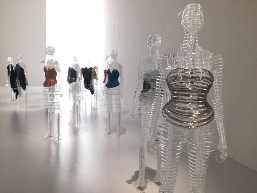 Installation view from 'Miyake Issey Exhibition: The Work of Miyake Issey' at The National Art Center, Tokyo. | MIO YAMADA