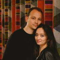 Dan Chuter and his wife, Diana Yukawa | OLIVIER BURNSIDE