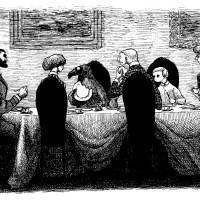 'The Doubtful Guest' (1957) | © 2010 THE EDWARD GOREY CHARITABLE TRUST