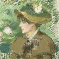 Edouard Manet's 'Woman on a Bench' (1879)