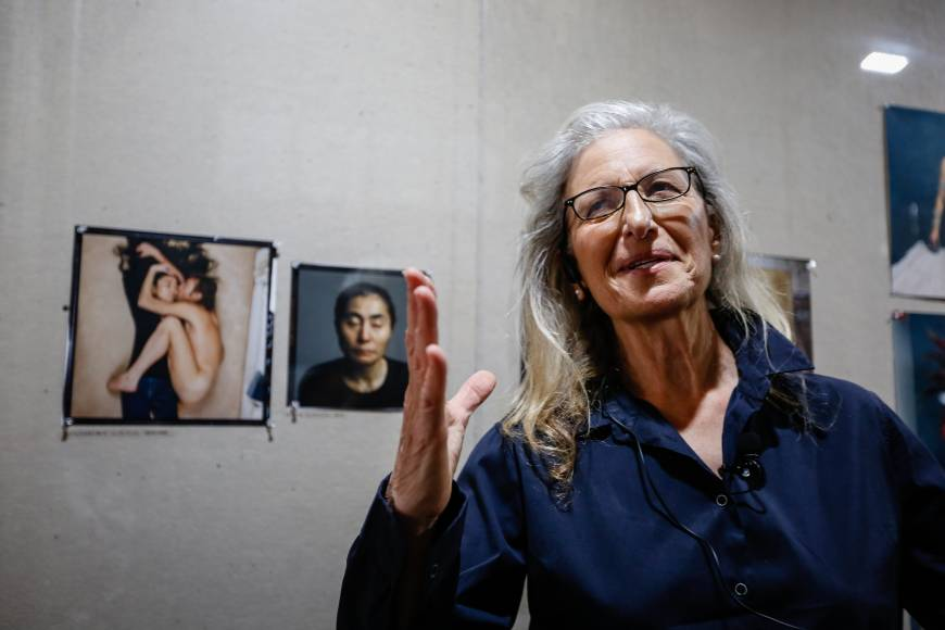 Annie Leibovitz: Looking at the smaller picture