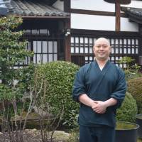 Access all areas: 'People think I'm focused on LGBT issues, but I'm just treating them as people who want to get married,'  says Takafumi Kawakami, the deputy abbot at Shunko-in. 'I just want to celebrate them.' | J.J. O'DONOGHUE