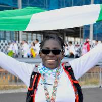 Adedayo Akinbode, Engineer, 49 (Nigerian): Every race is different. I did Kyoto last week, and I prefer Kyoto, as it took us out of 