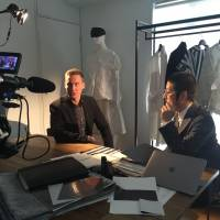 "Exploring culture: Will Ripley, CNN International's correspondent based in Tokyo, reports from the Anrealage showroom in Tokyo for his new TV special ""Made in Japan."""