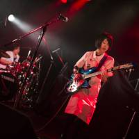 Going south: Guitarist Rei is excited to play her style of blues rock to American music fans at the South by Southwest music festival. | MICHIKO YAMAMOTO