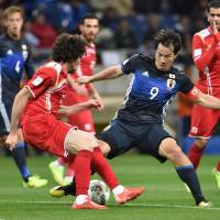 Centurion Okazaki looking for balance after win over Syria